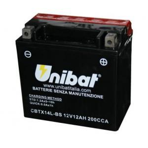 Baterie bezúdržbová Unibat CBTX16-BS, 12V 14Ah