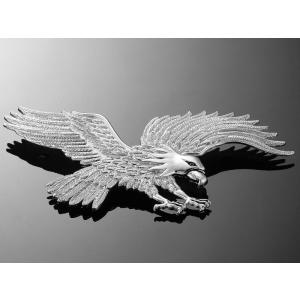 Nalepovací emblém Highway Hawk, chrom