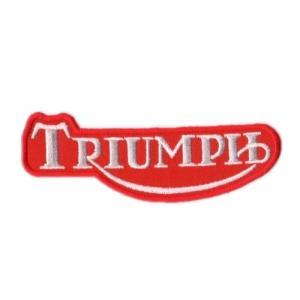 Nášivka a nažehlovačka Triumph červená