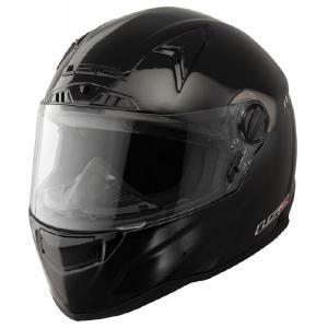 Přilba na motorku LS2 FT2 Single Mono černá výprodej