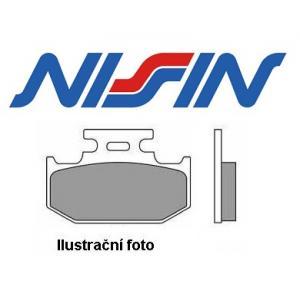 Brzdové destičky přední Nissin 2p322 ST výprodej