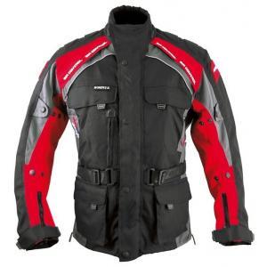 Bunda na motorku Roleff Liverpool černo-červená