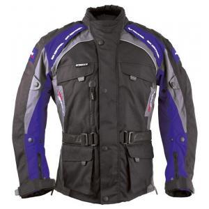 Bunda na motorku Roleff Liverpool černo-modrá