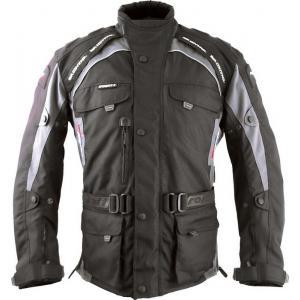 Bunda na motorku Roleff Liverpool černo-šedá
