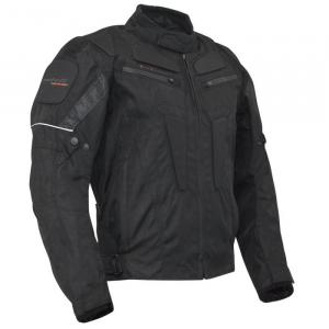 Bunda na motorku Roleff Riga černá