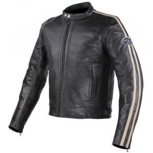 Bunda na moto Tschul 640 černo-béžová