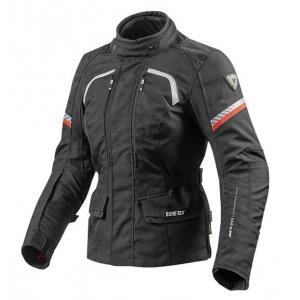 Dámská bunda na motorku Revit Neptune GTX černá výprodej