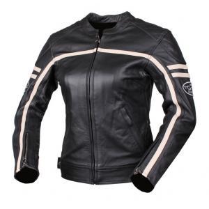 Dámská bunda na moto Tschul 635 černo-béžová