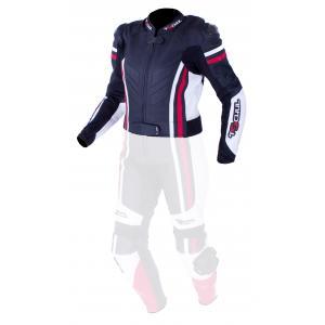 Dámská bunda Tschul 556 černo-bílo-červená výprodej