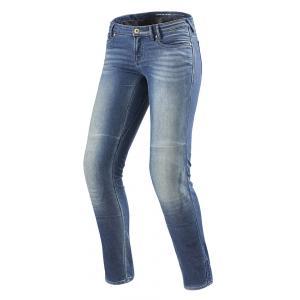 Dámské jeansy na moto Revit Westwood SF modré výprodej