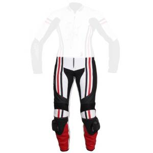 Dámské moto kalhoty Tschul 554 bílo-černo-červené výprodej