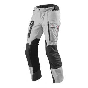 Kalhoty na motorku Revit Sand 3 stříbrné prodloužené výprodej