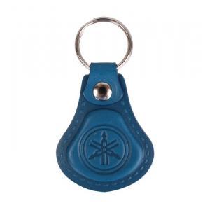 Kožený přívěsek na klíče Yamaha modrý