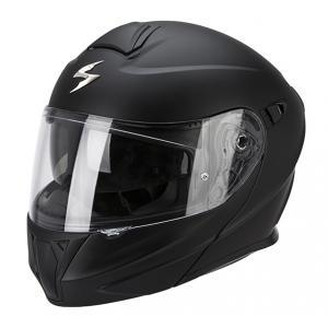 Přilba na motorku vyklopná Scorpion EXO-920 černá matná