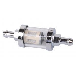 Palivový filtr R-TECH chromový 8 mm