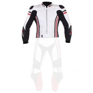 Pánská bunda Tschul 555 bílo-černo-červená