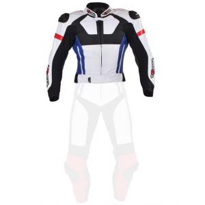 Pánská bunda Tschul 580 bílo-červeno-modro-černá