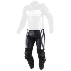 Pánské kalhoty na motorku RSA Virus černo-bílé