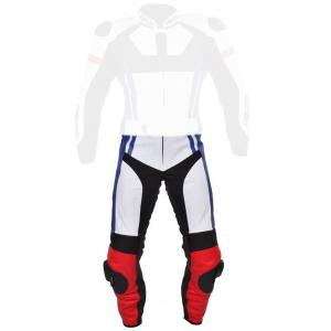 Pánské kalhoty Tschul 580 bílo-červeno-modro-černé