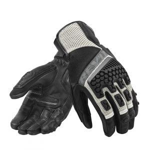 Rukavice na moto Revit Sand 3 černo-stříbrné výprodej