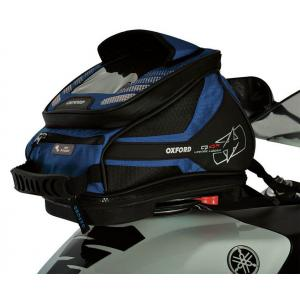 Tankbag na motocykl Oxford Q4R QR-modrý