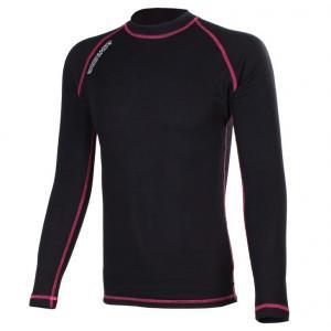 Termo triko RSA Heat černo-růžové dlouhý rukáv