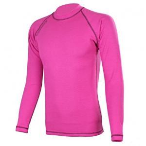 Termo triko RSA Heat růžovo-černé dlouhý rukáv