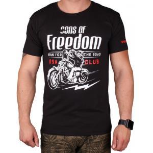 Triko RSA Sons of Freedom černé