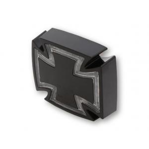 Universální LED zadní světlo Highsider Gothic černé