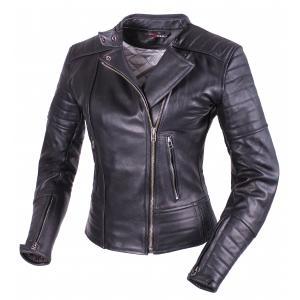 Dámská bunda na motorku Tschul 655 černá