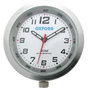 Analogové hodiny Oxford stříbrné