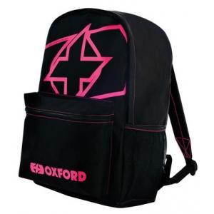 Batoh Oxford X-Rider černo-růžový