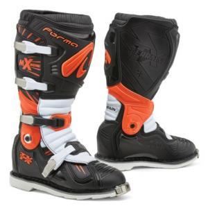 Boty na motorku Forma Terrain TX černo-oranžovo-bílé