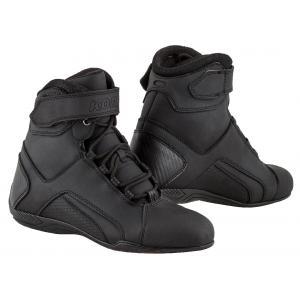 Boty na motorku Kore Velcro 2.0 černé