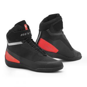 Boty na motorku Revit Mission černo-neonově červené výprodej