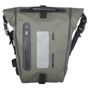 Brašna na sedlo spolujezdce Oxford Aqua T8 Tail bag černo-khaki zelená