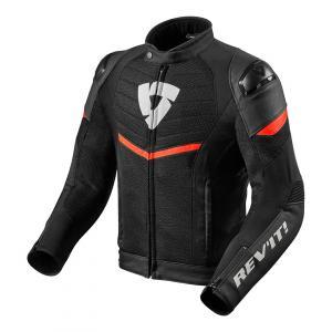 Bunda na motorku Revit Mantis černo-neonově červená výprodej