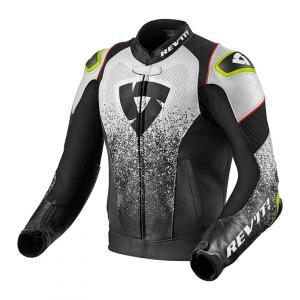 Bunda na motorku Revit Quantum Air černo-bílá výprodej