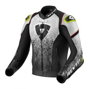 Bunda na motorku Revit Quantum černo-bílá výprodej