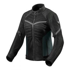 Dámská bunda na motorku Revit Arc Air černo-šedá výprodej