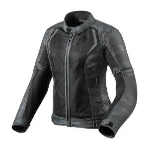 Dámská bunda na motorku Revit Torque maskáčovo-černo-šedá výprodej