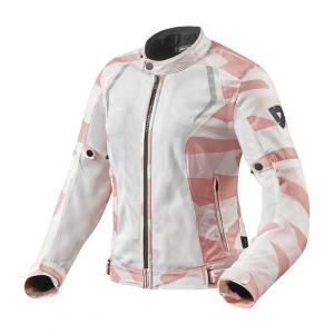 Dámská bunda na motorku Revit Torque maskáčovo-růžová výprodej