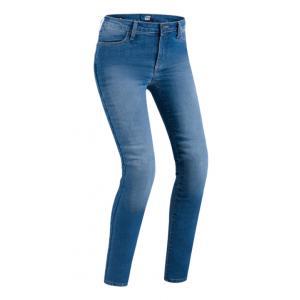 Dámské jeansy na motorku PMJ Skinny modré výprodej