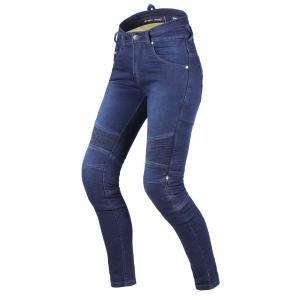 Dámské jeansy na motorku Street Racer Spike II CE modré