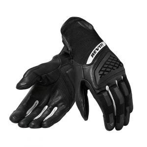 Dámské rukavice na motorku Revit Neutron 3 černo-bílé výprodej