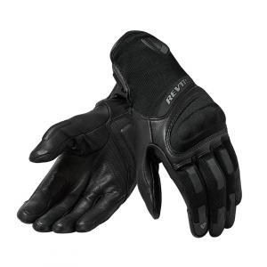 Dámské rukavice na motorku Revit Striker 3 černé výprodej