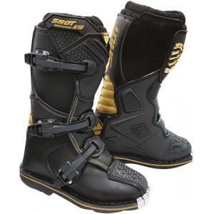 Dětské boty na motorku Shot K10 2.0 černo-zlaté