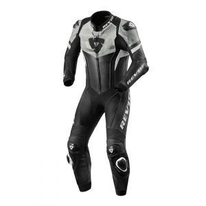 Jednodílná kombinéza na motorku Revit Hyperspeed černo-bílá