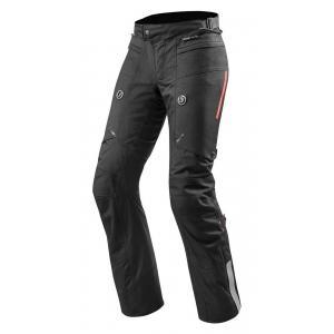 Kalhoty na moto Revit Horizon 2 černé prodloužené