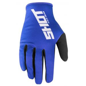 Motokrosové rukavice Shot Devo Raw modré výprodej